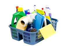 Fuentes de limpieza Imagen de archivo