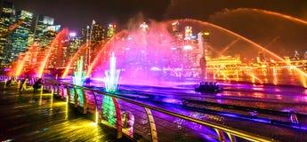 Fuentes de los espectros de Singapur Foto de archivo