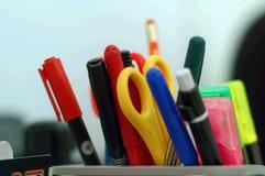 Fuentes de oficina Imagen de archivo libre de regalías