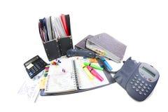 Fuentes de oficina (foto del fisheye) Fotografía de archivo libre de regalías