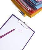 Fuentes de oficina modernas Imagen de archivo libre de regalías