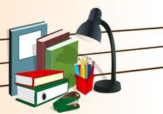 Fuentes de oficina, vector de los cdr stock de ilustración