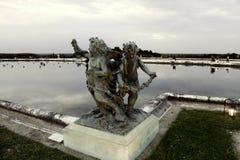 Fuentes de Versalles en caída Fotos de archivo