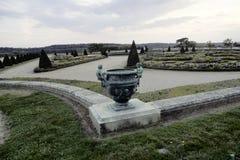 Fuentes de Versalles en caída Foto de archivo libre de regalías