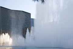 Fuentes del baile de Las Vegas Bellagio Imagen de archivo