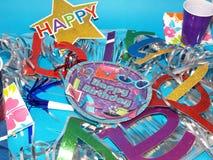 Fuentes del cumpleaños Fotografía de archivo