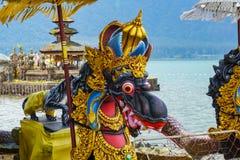 Fuentes del dragón en el templo hindú Pura Ulun Danu Beratan, Bali, Indonesia del Balinese foto de archivo libre de regalías