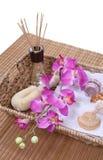 Fuentes del masaje foto de archivo libre de regalías