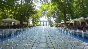 Fuentes del parque de Ereván Shahumyan metrajes