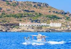 Fuentes Kallithea (Terme Kalithea) Isla de Rodas Grecia Fotos de archivo