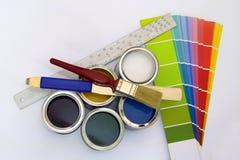 Fuentes para pintar fotos de archivo libres de regalías