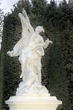 Fuentes y esculturas de Versalles en caída Imagen de archivo libre de regalías