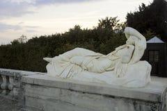 Fuentes y esculturas de Versalles en caída Fotos de archivo libres de regalías
