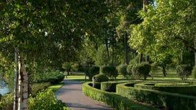 Fuentes y parque