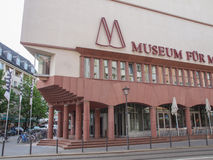 Fuer Kunst moderno do museu Fotografia de Stock Royalty Free