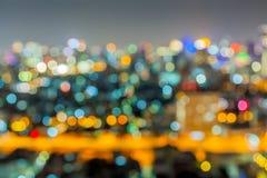 Fuera de ciudad grande del foco Imagenes de archivo