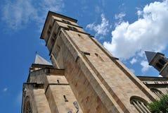 Fuera de la abadía de Echternach Imagen de archivo libre de regalías