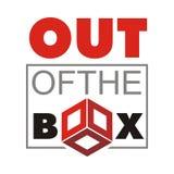 Fuera de la caja Imagen de archivo libre de regalías