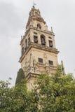 Fuera de la catedral de la mezquita de Córdoba, España Foto de archivo libre de regalías