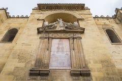 Fuera de la catedral de la mezquita de Córdoba, España Imagen de archivo libre de regalías