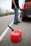Fuera del gas Imagen de archivo libre de regalías