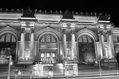 Fuera del museo de arte metropolitano 95 Imagen de archivo libre de regalías
