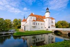 Fuerstlich Drehna palace in Brandenburg Royalty Free Stock Photography