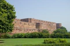 Fuerte Agra en la arquitectura de la India una construcción Imagen de archivo libre de regalías
