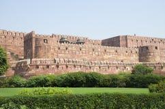 Fuerte Agra en la arquitectura de la India una construcción Imágenes de archivo libres de regalías