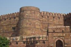 Fuerte Agra en la arquitectura de la India una construcción Fotos de archivo libres de regalías