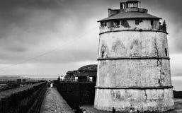 Fuerte Aguada, Goa Imagen de archivo libre de regalías