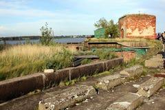 Fuerte Alejandro I, o fuerte de la plaga en Rusia Foto de archivo