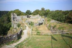 Fuerte antiguo de la cuerda, Bélgica Imagen de archivo libre de regalías