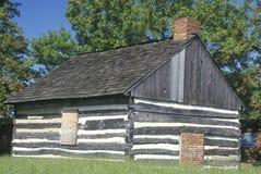Fuerte Christina en Wilmington Delaware, sitio del primer acuerdo europeo en Delaware Imagen de archivo libre de regalías