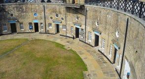 Fuerte circular Essex Inglaterra de la reduda de Harwich Imagen de archivo libre de regalías