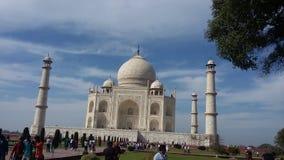 Fuerte de Agra dentro Imagen de archivo libre de regalías