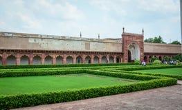 Fuerte de Agra en Agra, la India imagenes de archivo