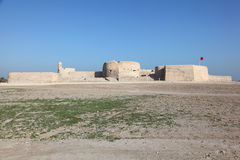 Fuerte de Bahrein en Manama, Oriente Medio fotografía de archivo libre de regalías