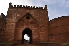 Fuerte de Bidar, Karnataka, la India Imágenes de archivo libres de regalías