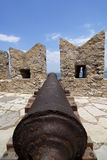 Fuerte de Bourtzi en Nafplio Fotos de archivo libres de regalías