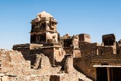 Fuerte de Chittorgarh, Rajasthán, la India Fotografía de archivo libre de regalías
