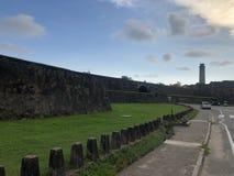 Fuerte de Galle en Sri Lanka foto de archivo