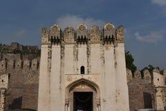Fuerte de Golconda, Hyderabad, la India Fotografía de archivo libre de regalías