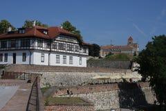Fuerte de Kalemegdan en Belgrado, Serbia fotos de archivo