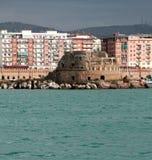 Fuerte de la fortaleza antigua Civitavecchia, Italia Foto de archivo libre de regalías