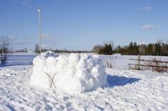Fuerte de la nieve Fotos de archivo