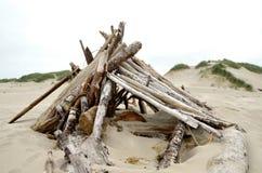Fuerte de la playa Fotos de archivo