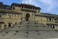 Fuerte de Maheshwar - de Ahilya Imagenes de archivo