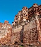 Fuerte de Mehrangarh en Jodhpur, Rajasthán, la India fotos de archivo