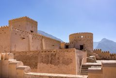Fuerte de Nakhl, Omán Imagen de archivo libre de regalías